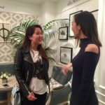 Meeting fashion blogger Chriselle Lim