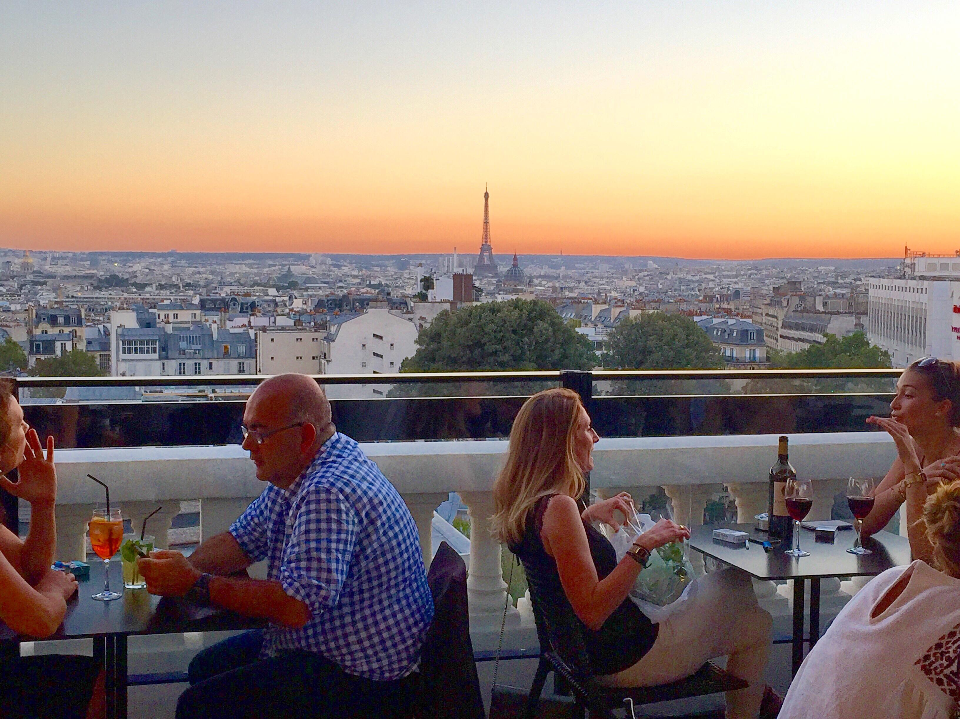 My Favorite Rooftop Bars In Paris